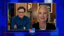 The Late Show with Stephen Colbert - Episode 129 - Cindy McCain, MJ Rodriguez