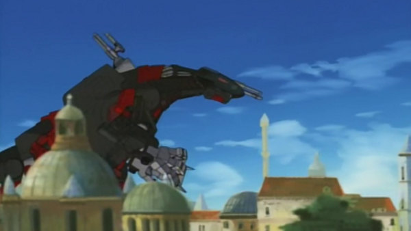 Zoids - Ep. 34 - The Destruction of the Capital