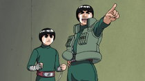 Naruto - Episode 22 - Chunin Challenge: Rock Lee vs. Sasuke!