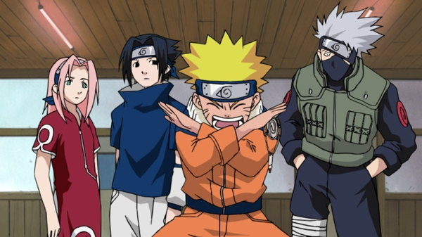 Naruto - Ep. 6 - A Dangerous Mission! Journey to the Land of Waves!