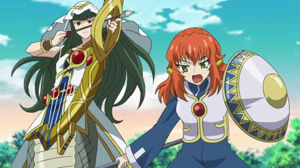 Future Card Buddyfight - Ep. 37 - Medusa Unleashed!