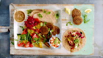 Jamie's 15-Minute Meals - Episode 20 - Spiced Chicken Lentils and Falafel Wraps