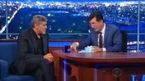 The Late Show with Stephen Colbert - Episode 1 - George Clooney, Jeb Bush, Jon Batiste & Stay Human