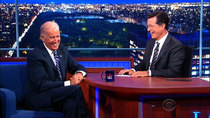 The Late Show with Stephen Colbert - Episode 3 - Vice President Joe Biden, Travis Kalanick, Toby Keith