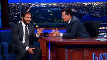 The Late Show with Stephen Colbert - Episode 6 - Tim Cook, Jake Gyllenhaal, Run The Jewels with TV On The Radio