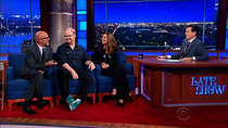 The Late Show with Stephen Colbert - Episode 13 - Andrew Sullivan, Maria Shriver, Jim Gaffigan, Archbishop Thomas...