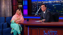 The Late Show with Stephen Colbert - Episode 14 - Malala Yousafzai, Kerry Washington, The Arcs