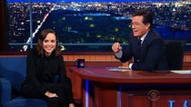 The Late Show with Stephen Colbert - Episode 16 - Ellen Page, Jesse Eisenberg, Dominic Wilcox