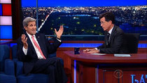 The Late Show with Stephen Colbert - Episode 18 - John Kerry, Claire Danes, PewDiePie