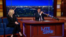 The Late Show with Stephen Colbert - Episode 23 - Cate Blanchett, Brian Chesky, Dartmouth Football Dummy