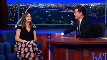 The Late Show with Stephen Colbert - Episode 25 - Carey Mulligan, Elvis Costello, Darlene Love