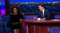 The Late Show with Stephen Colbert - Episode 28 - Oprah Winfrey, Joseph Fink, Jeffrey Cranor, Judith Hill
