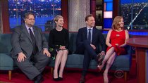 "The Late Show with Stephen Colbert - Episode 29 - Jimmy Kimmel, the cast and director of ""Crimson Peak"", Beach..."