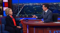 The Late Show with Stephen Colbert - Episode 31 - Hillary Clinton, Anthony Bourdain, Carrie Brownstein, Lianne...