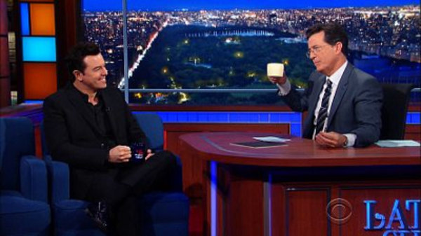 The Late Show with Stephen Colbert - S01E33 - Seth MacFarlane, Neil DeGrasse Tyson