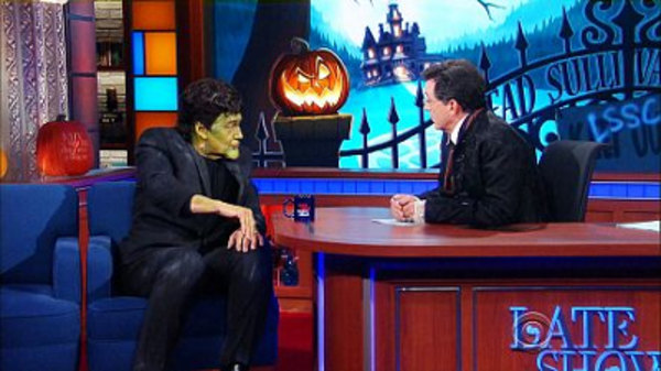 The Late Show with Stephen Colbert - S01E34 - Charlie Rose, Stacy Schiff, Ghost
