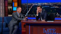 The Late Show with Stephen Colbert - Episode 37 - Daniel Craig, Elizabeth Gilbert, Dr. Eugenia Cheng