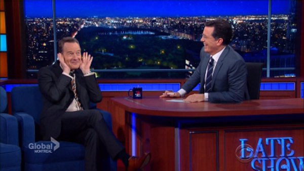 The Late Show with Stephen Colbert - S01E38 - Bryan Cranston, Shamir