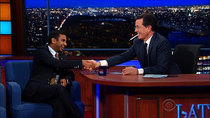 The Late Show with Stephen Colbert - Episode 41 - Aziz Ansari, Shonda Rhimes, Bruce Campbell, Lucy Lawless