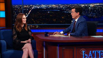 The Late Show with Stephen Colbert - Episode 46 - Julianne Moore, Burt Reynolds, Public Image Ltd