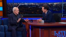 The Late Show with Stephen Colbert - Episode 49 - Michael Caine, Larry Wilmore, Boots