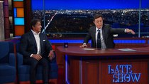 The Late Show with Stephen Colbert - Episode 50 - Sylvester Stallone, Ted Koppel, My Morning Jacket