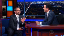 The Late Show with Stephen Colbert - Episode 53 - Steve Carell, Jennifer Hudson