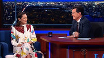 The Late Show with Stephen Colbert - Episode 54 - Marion Cotillard, George Saunders, Joanna Newsom