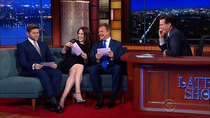 The Late Show with Stephen Colbert - Episode 55 - Michelle Dockery, Hugh Bonneville, Allen Leech, Adam McKay, Kurt...