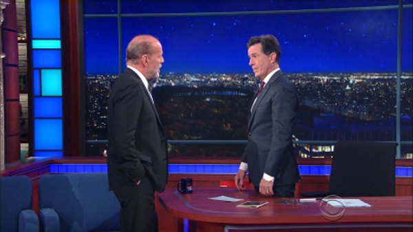 The Late Show with Stephen Colbert - S01E56 - Bruce Willis, Michael Lewis, Lizzo