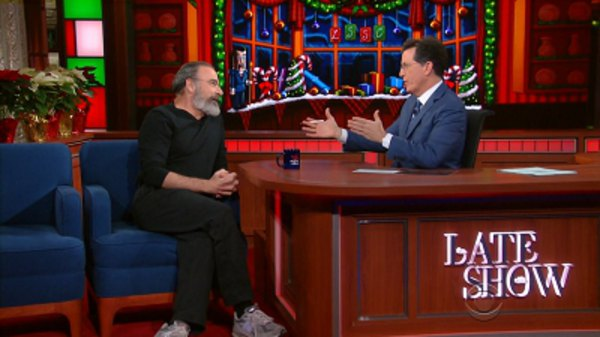 The Late Show with Stephen Colbert - S01E62 - Mandy Patinkin, Kayvon Beykpour, Leon Bridges