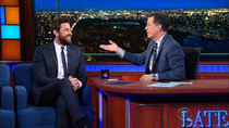 The Late Show with Stephen Colbert - Episode 64 - John Krasinski, Killer Mike, George Church, Foals
