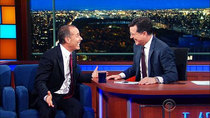 The Late Show with Stephen Colbert - Episode 65 - Jerry Seinfeld, Rand Paul, Andra Day