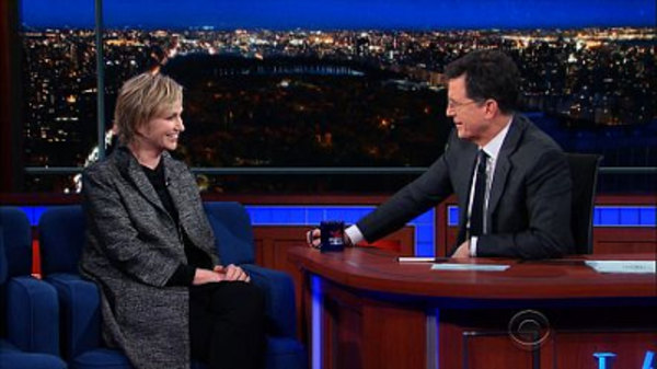The Late Show with Stephen Colbert - S01E68 - Jane Lynch, Sec. Julian Castro, EL VY