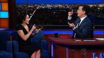 The Late Show with Stephen Colbert - Episode 73 - Patricia Heaton, Quincy Jones, Deray McKesson, Grace