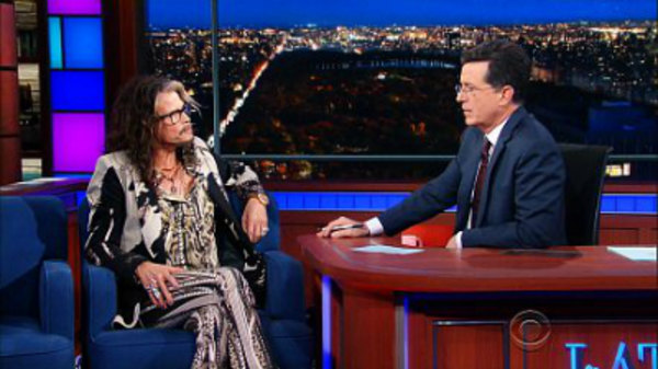 The Late Show with Stephen Colbert - S01E77 - Steven Tyler, Gaby Hoffmann, Låpsley