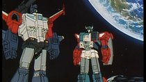 Transformers: Choujin Master Force - Episode 27 - God Ginrai - Showdown on the Surface of the Moon