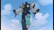 Transformers: Choujin Master Force - Episode 28 - Overlord - Terror of the Chokon Tornado