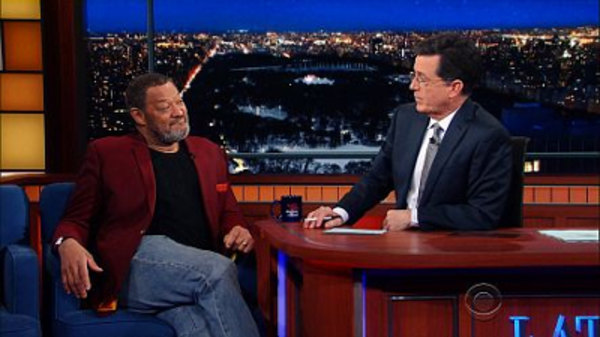 The Late Show with Stephen Colbert - S01E79 - Laurence Fishburne, Michael Novacek, Lake Street Dive