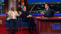 The Late Show with Stephen Colbert - Episode 82 - John Travolta, Courtney B. Vance, Amy Cuddy, John Moreland