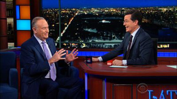 The Late Show with Stephen Colbert - S01E88 - Bill O'Reilly, Eddie George, Macklemore & Ryan Lewis