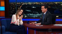 The Late Show with Stephen Colbert - Episode 89 - Olivia Wilde, Christiane Amanpour, Jon Batiste & Stay Human