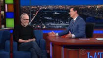 The Late Show with Stephen Colbert - Episode 102 - Chrissy Teigen, Mike Birbiglia, Adam Savage
