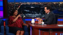 The Late Show with Stephen Colbert - Episode 103 - Octavia Spencer, John Stamos, Bob Saget, Dave Coulier, Lucius