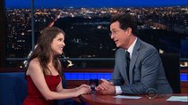The Late Show with Stephen Colbert - Episode 108 - Anna Kendrick, Loretta Lynch, Brian Fallon