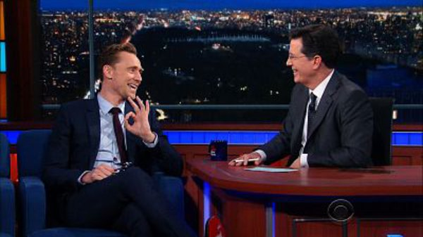 The Late Show with Stephen Colbert - S01E114 - Tom Hiddleston, Laura Benant, Frightened Rabbit