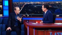 The Late Show with Stephen Colbert - Episode 118 - Steve Buscemi, Benjamin Walker, Broadway Cast of 'American Psycho'