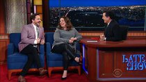 The Late Show with Stephen Colbert - Episode 120 - Melissa McCarthy, Ben Falcone, Arianna Huffington, BABYMETAL
