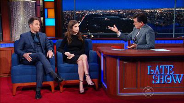The Late Show with Stephen Colbert - S01E121 - Anna Kendrick, Sam Rockwell, David Duchovny, Autolux