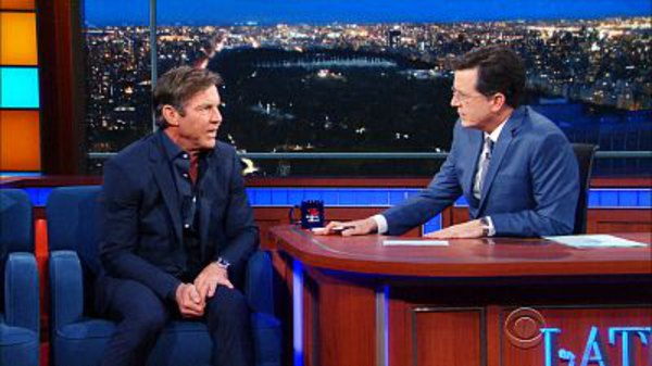The Late Show with Stephen Colbert - S01E125 - Dennis Quaid, Matt Walsh, Charles Bradley, Tootie & Jimmy Heath